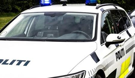 Spritbilist anholdt i Egebjerg