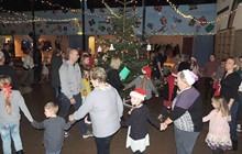 Stor juletræsfest i Nykøbing