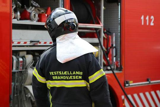 Beboer reddede sig ud ved påsat brand