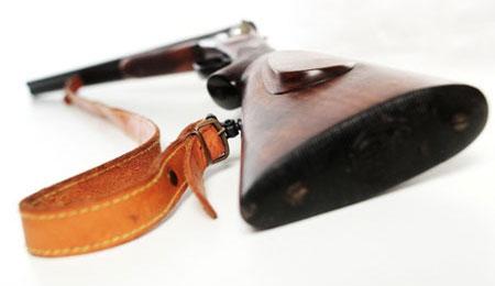 Skydevåben stjålet fra villa i Højby