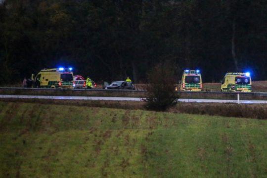 47-årig fra Nykøbing i motorvejsulykke