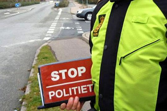 Narkobilist anholdt i Rørvig