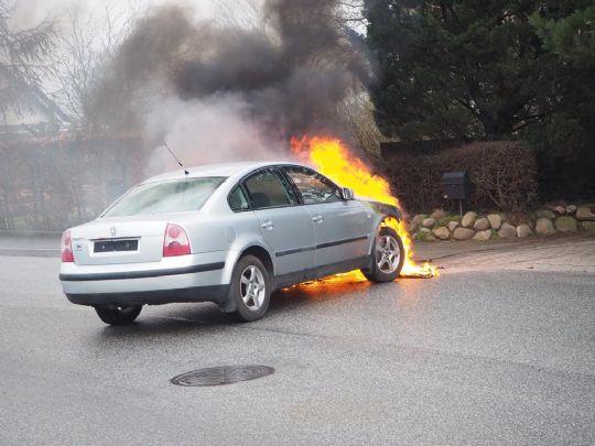 Bilbrand i Nykøbing