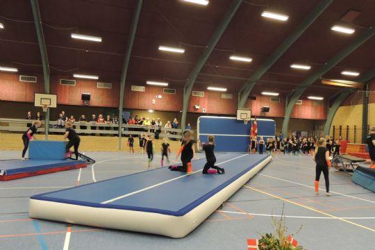 600 til gymnastik i Nordgårdshallen