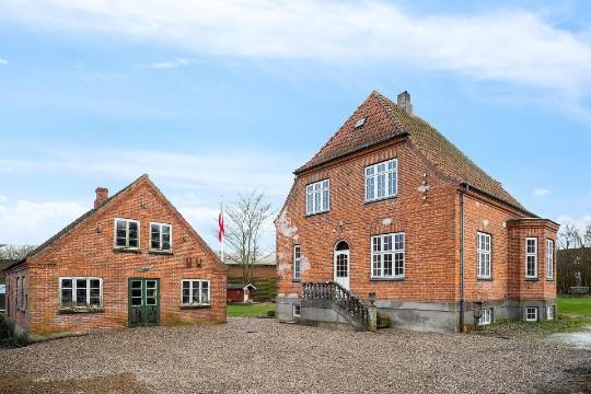 Arkitektonisk villa til den store familie