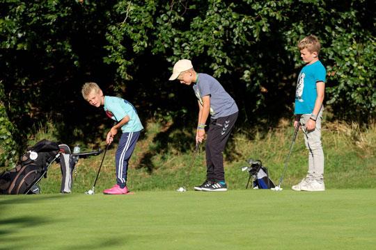 Relativt få unge spiller golf