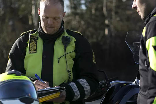 To spritbilister anholdt i Nykøbing