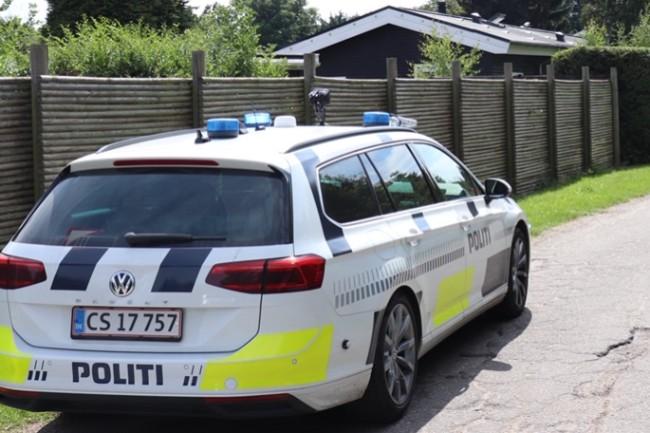 Avisbud udløste politijagt ved Nykøbing