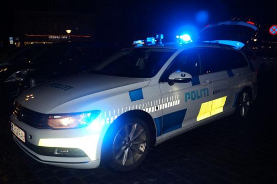 Kvindes bil med falske plader beslaglagt