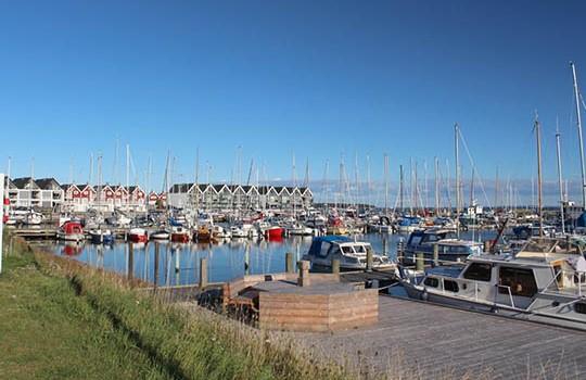 Venteliste på plads i havnen i Nykøbing