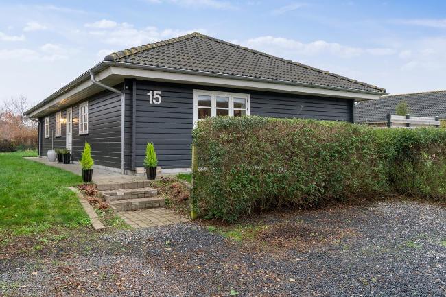Familievenligt bjælkehus i Højby