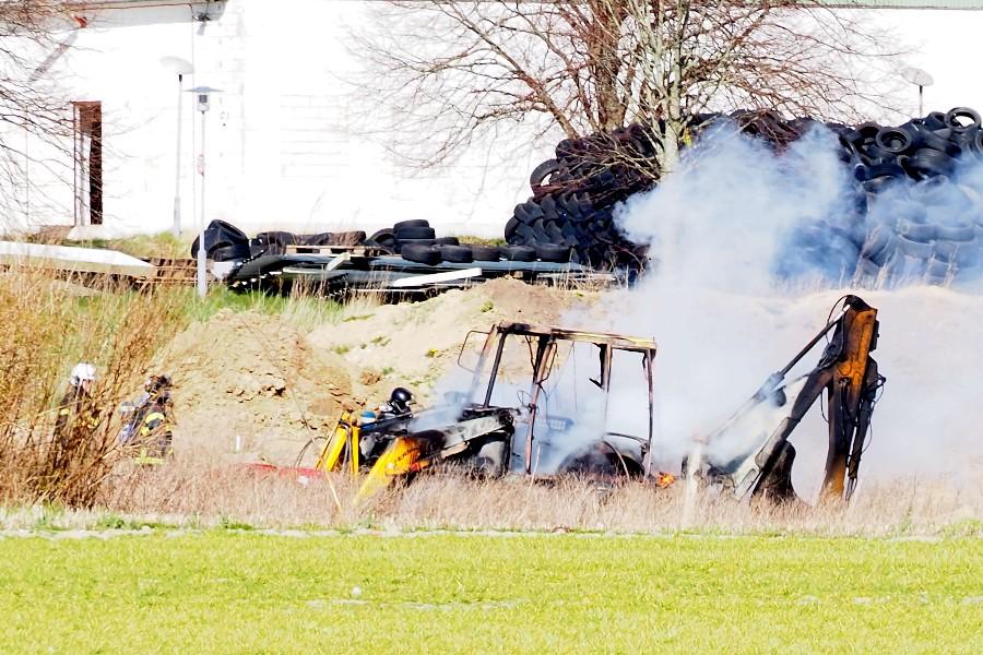 Rendegraver udbrændte i Egebjerg
