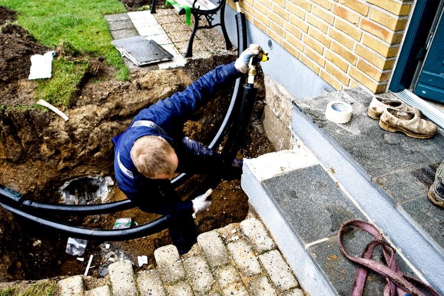 Mange i Højby har skiftet til fjernvarme