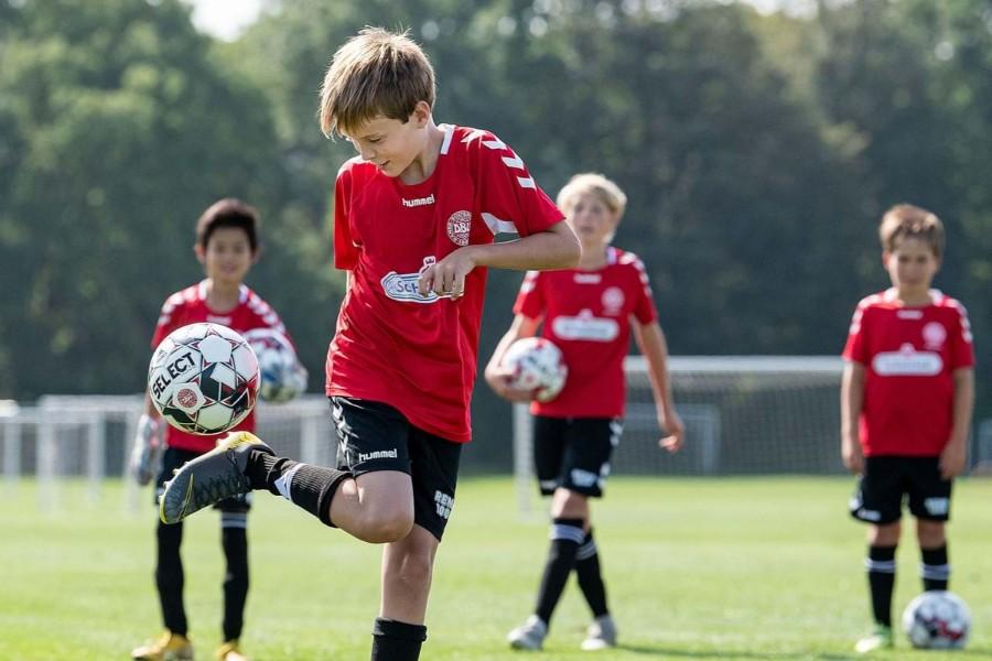 Fodboldskole på Kongeengen
