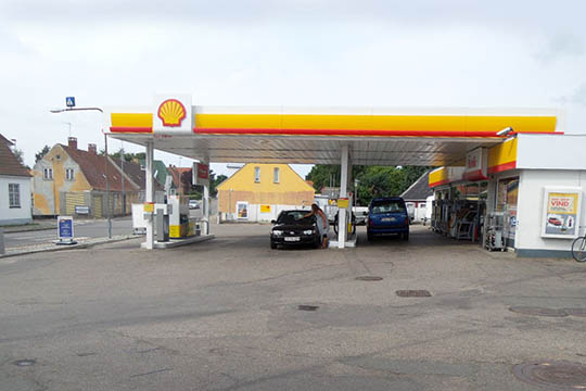 Indbrud hos Shell på Vesterbro
