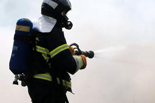Brand på høloft på opholdssted for unge