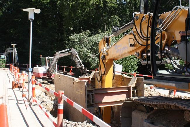 Nye vandledninger graves ned i Nykøbing
