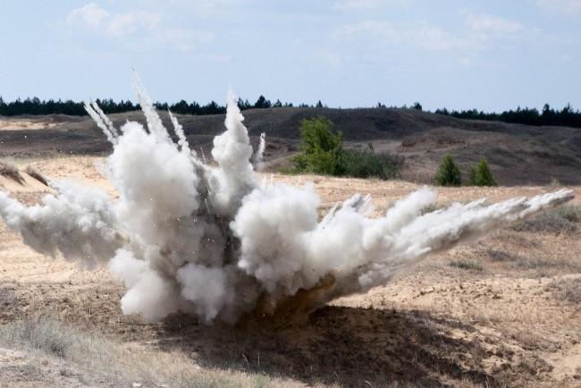 Forsvaret måtte fjerne ammunition på Gniben