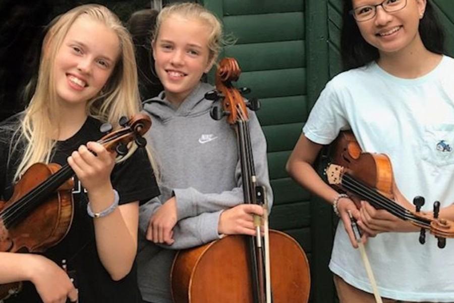 Talentfulde børn spiller klassisk i Nykøbing Kirke