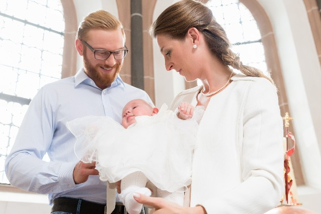Stabilt antal døbte i områdets sognekirker