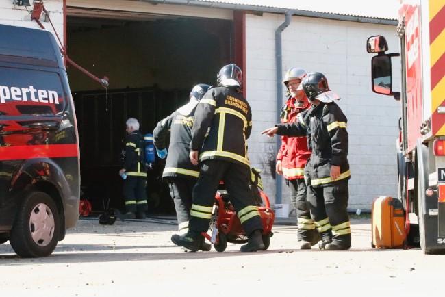 Politiet undersøger eksplosion på fabrik