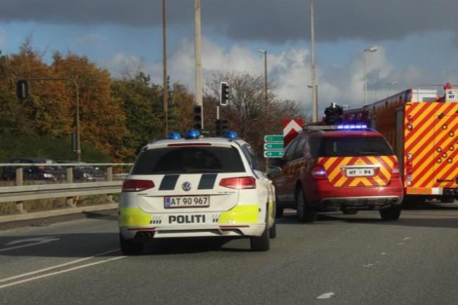 69-årig fra Nykøbing kvæstet i motorvejsuheld
