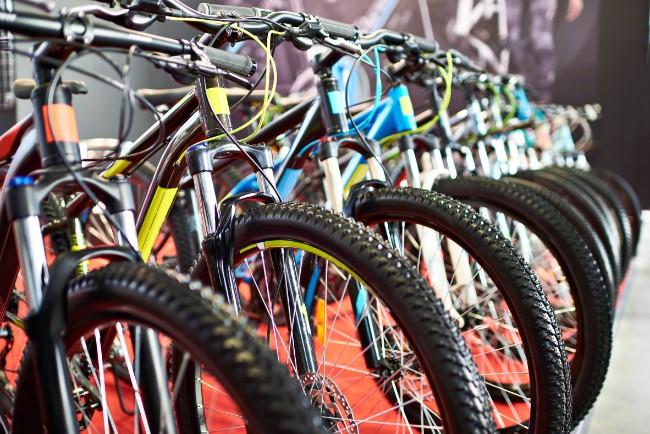 Overskud på salg af cykler på nettet