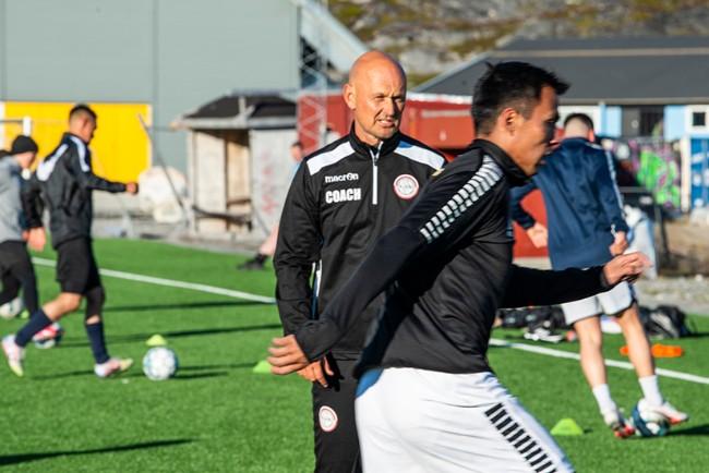 Morten Rutkjær håber på flere år i Grønland