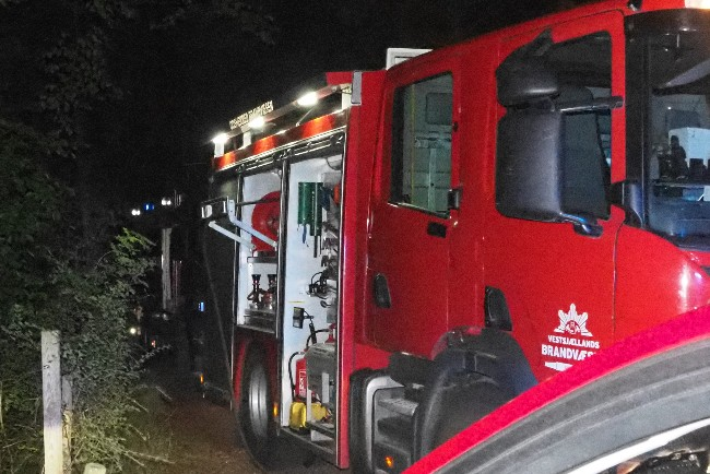 Brand i varmetæppe i Rørvig