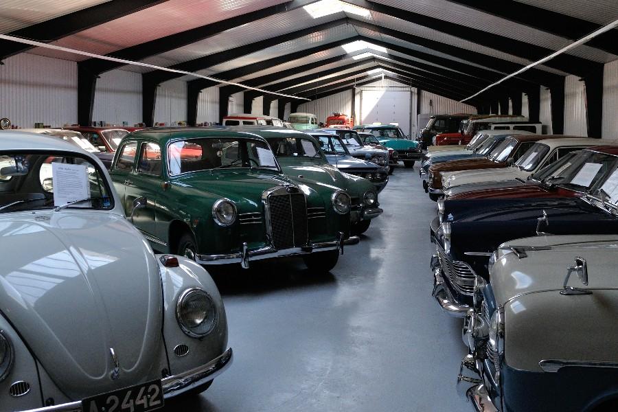 Udvider ikke vej til nyt bilmuseum