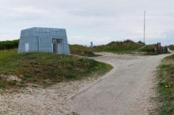 Toiletlåse på Nordstrand ødelagt af salt og sand