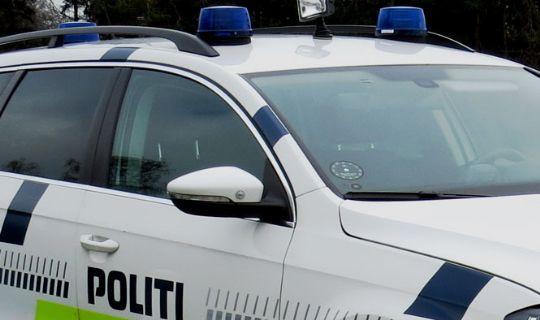 Mand anholdt for spritkørsel i Nykøbing