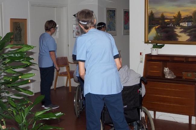 Ældre i Nykøbing vaccineret på samlebånd
