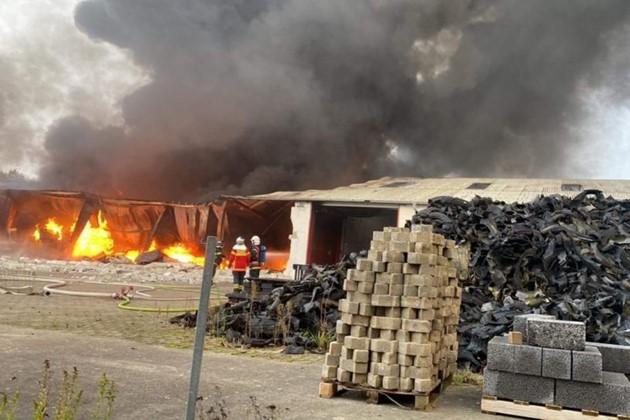 Årsagen til brand i Egebjerg endnu ukendt