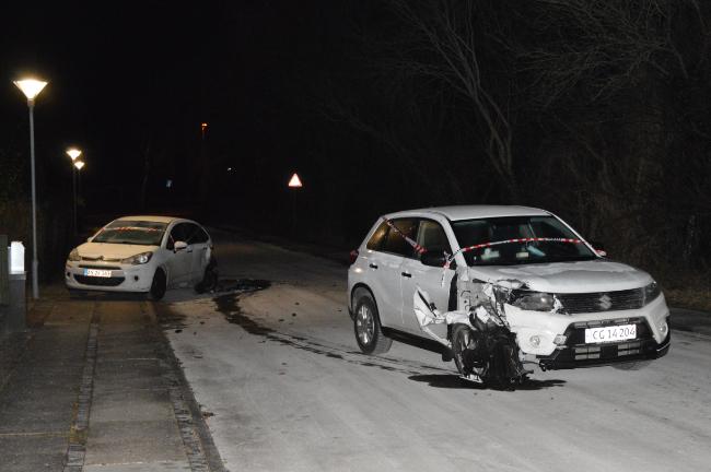 Biltyv kørte hasarderet og stak af efter uheld