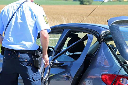 68-årig fra Nykøbing involveret i trafikuheld